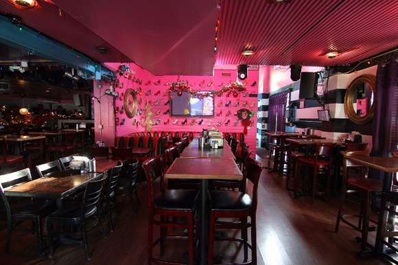 Restaurant, Patio, Bar Area, Private Room and Dressing Room. Business Hours: Mon-Thu 11AM-1AM, Fri-Sat 11AM-2AM, Sun 10AM-1AM. PLEASE NOTE: Stated rates are for non-business hours only (night shoots). If you want to shoot during business hours, the rate will be negotiable depending on the day, production scale, and time. Commercial rates are negotiable.