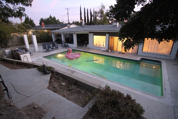 Beautiful 3 Bedroom Home with Pool and European Decor. Rates stated are for 12-hour days only. Commercial rate is for up to 50 people only. 6-hour rate: Student - $600, Indie - $900, Commercial - $1500. Overnight is allowed for 40% extra fee. Student and Independent productions can't use the master bedroom. If needs to be used, the price might be negotiated.
