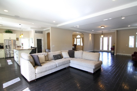 5 Bedrooms, 3 Bathrooms, Pool, Backyard and Front Yard. Small Basketball Court and Garage.