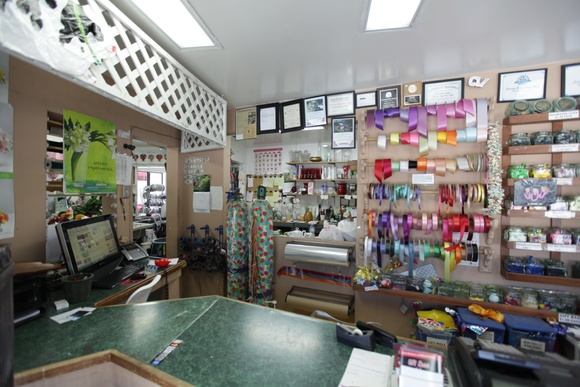 Flower Shop. Business Hours: Mon-Fri (9AM to 6PM), Sat (9 AM to 5PM), Sun - closed. Allows close down for extra pay. Main Space and Patio are allowed to be used by production.