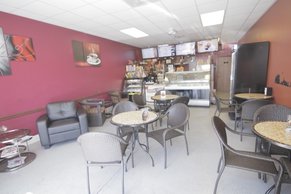 Coffee Shop with Ice cream parlor and lots of open refrigerators. Business hours: Mon-Fri (8AM to 8PM), Sat (9AM to 7PM), Sun - closed. During business hours student rate goes up to 59$ an hour, indie rate goes up to 75$ an hour, commercial - 125$ an hour.