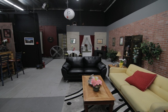 Standing film sets studio. EXTRA SETS: $50 set up fee for classroom, interrogation room, and jail. IMPORTANT: STUDENT RATES - cast and crew of 15 or less - $60/Hr, $600/12 hr.; cast and crew of 16 or more - $70/Hr, $700/12 hr. INDEPENDENT RATES - $80/Hr, $800/12 hr. COMMERCIAL RATES - $100/hr, $1000/12 hr. For all productions if more than 3 days are booked you get a discount. For Week Booking you get a bigger discount.