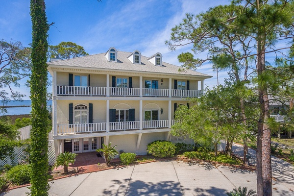 Exterior photo for 1709 E Gulf Beach Dr Saint George Island fl 32328