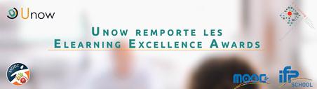 Unow remporte les Elearning Excellence Awards pour la 2ème année consécutive