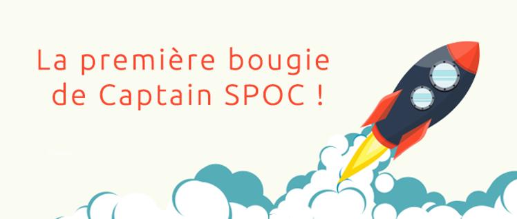 Unow souffle la première bougie de Captain SPOC !