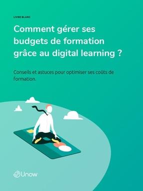 Comment gérer ses budgets de formation grâce au digital learning ?