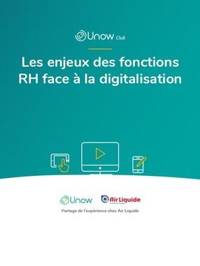 Les enjeux des fonctions RH face à la digitalisation