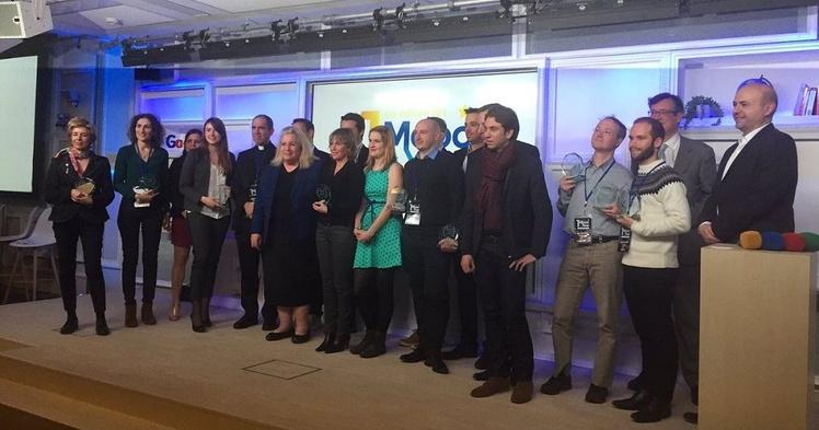 Unow triplement lauréat des premiers MOOC of the Year