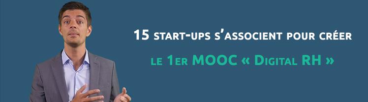 15 start-ups s'associent pour créer le 1er MOOC « Digital RH »