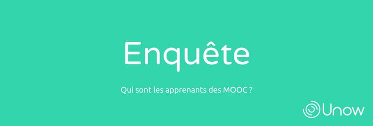 Grande enquête sur les apprenants des MOOC professionnels