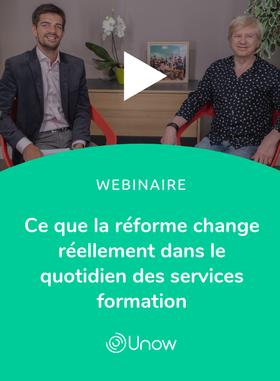 Ce que la réforme change réellement dans le quotidien des services formation