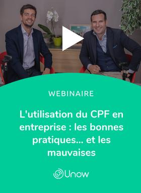 L'utilisation du CPF en entreprise