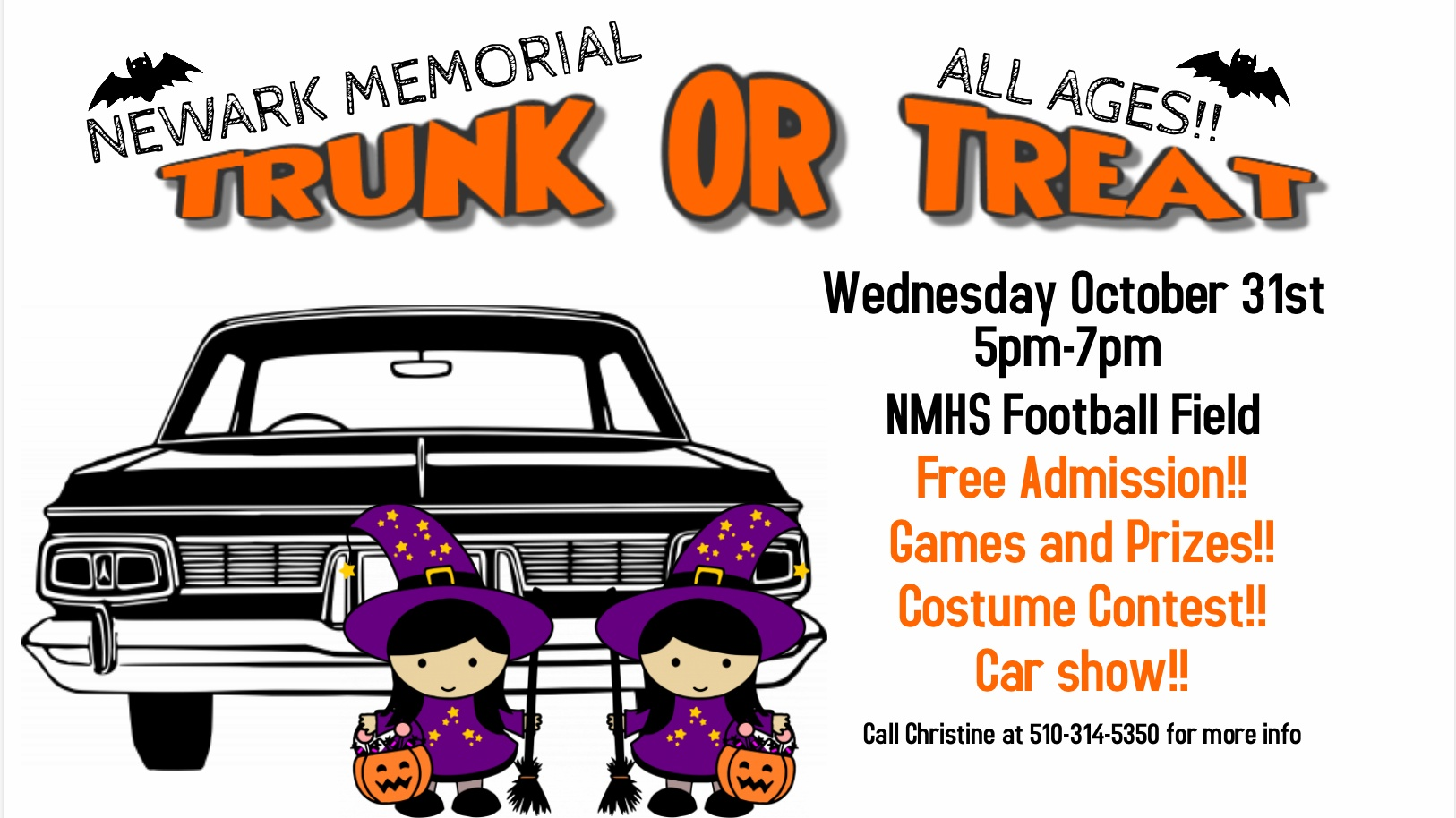 Trunk Or Treat Sponsormyevent