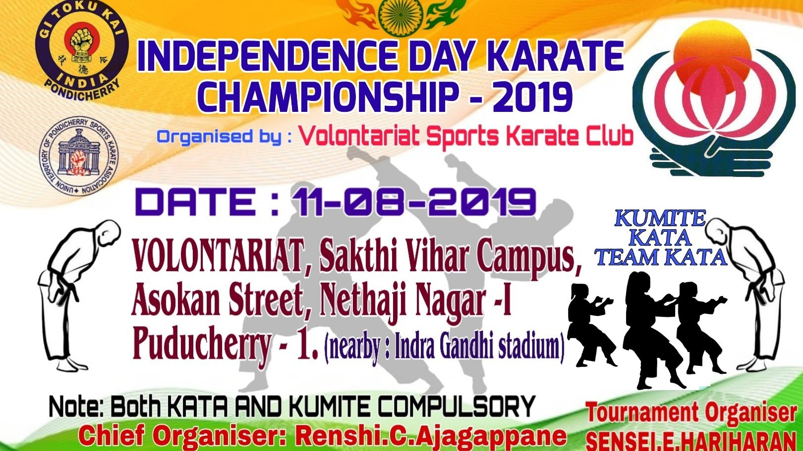 INDEPENDENCE DAY KARATE CHAMPIONSHIP 2019 - SponsorMyEvent