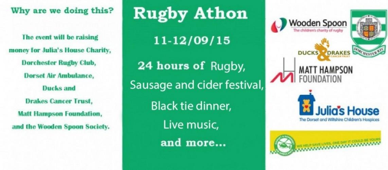 Dorchester Rfc 24hr Rugbyathon Sponsormyevent