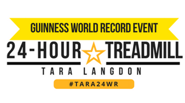 Tara's 24-Hour Treadmill Guinness World Record