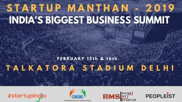 Startup Manthan Biggest Business Summit