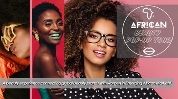 African Beauty Pop-Up Tour