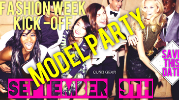 Fashion Week Kick-Off Models Party
