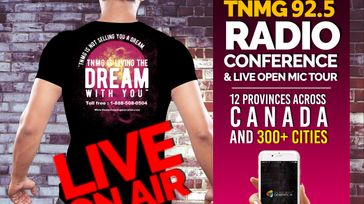 TNMG 92.5 Radio Conference & Live Open Mic Tour