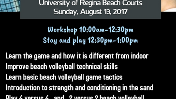 Saskatchewan Youth Beach Volleyball Workshop