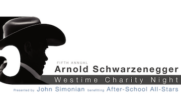 Arnold Schwarzenegger Westime Charity Night