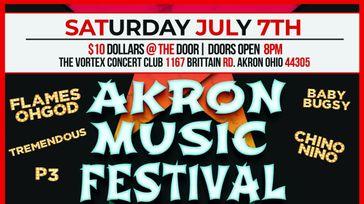 Akron music festival 2018