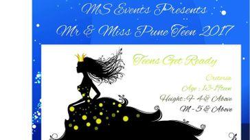 Mr & Miss Pune Teen 2017