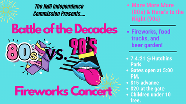 Battle of the Decades Fireworks Concert