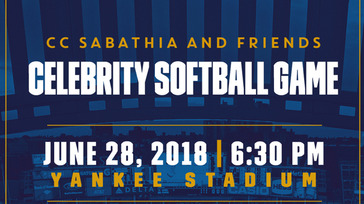 CC Sabathia's Celebrity Softball Game