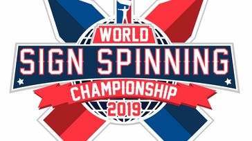 2019 World Sign Spinning Championship