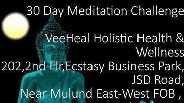 30 Days Meditation Challenge