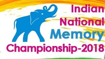 National Memory Championship-2018