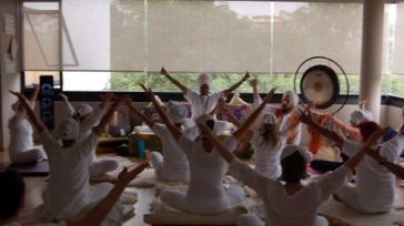 Taking It To The Streets Kundalini Yoga Fundraiser