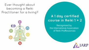 Reiki Training with Internationally recognized certification