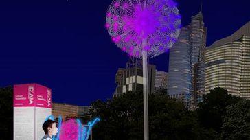 Vivid Sydney - Light Walk 'Spreading Life'