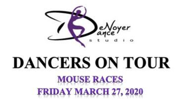 Dancers On Tour Mouse Races