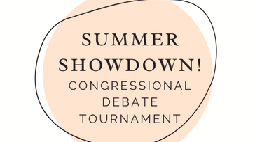 Summer Showdown Congressional Debate Tournament