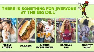 The Big Dill™ World's Largest Pickle Party