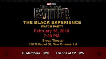 Marvel Black Panther Watch Party