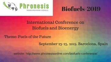 International Conference on Biofuels and Bioenergy