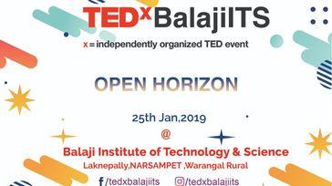 TEDxBalajiITS