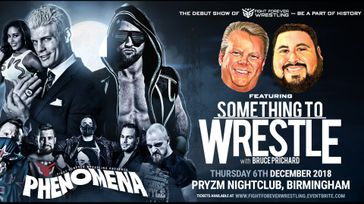 Fight Forever Wrestling presents Phenomena