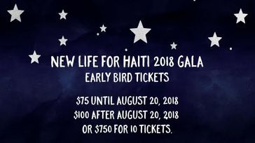 New Life for Haiti Annual Gala
