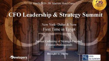 Cairo CFO Leadership & Strategy Summit