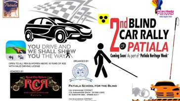 2nd Blind Car Rally, patiala