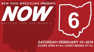 New Ohio Wrestling - NOW 6: Battles for the Band 3