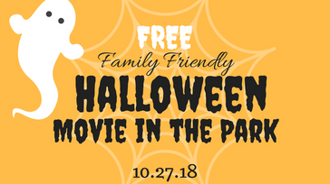 FREE Halloween Movie In The Park