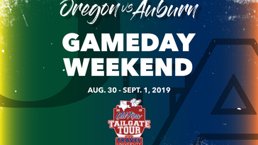Old Row Tailgate Tour Auburn vs. Oregon Gameday Weekend