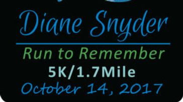 Diane Snyder Run to Remember 5k/1.7m
